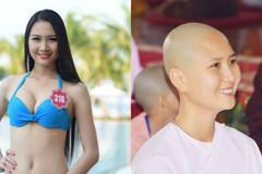 'Người có mái tóc đẹp nhất' Hoa Hậu Việt Nam 2014 đi tu
