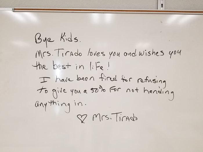 Giáo viên bị đuổi việc vì cho học sinh 0 điểm