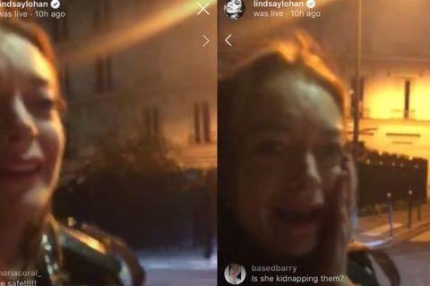 Lindsay Lohan bị đấm