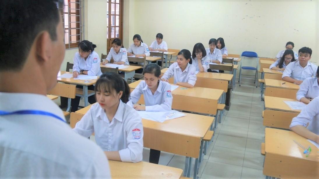 Sửa nội dung hoặc điểm bài thi sẽ bị phạt từ 10 đến 15 triệu đồng