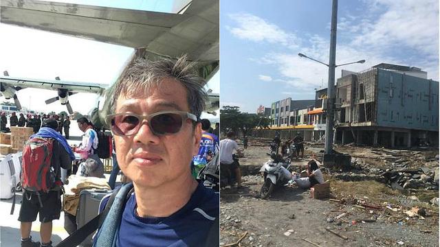 Tình người cảm động trong thảm họa động đất tại Indonesia