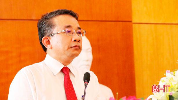 Nguyên Chủ tịch TP Hà Tĩnh làm Giám đốc Sở Tài chính