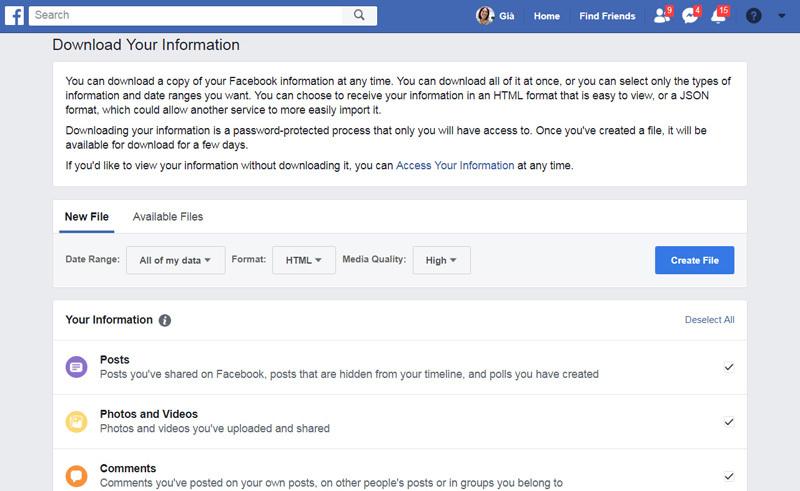 Cách xóa vĩnh viễn tài khoản Facebook