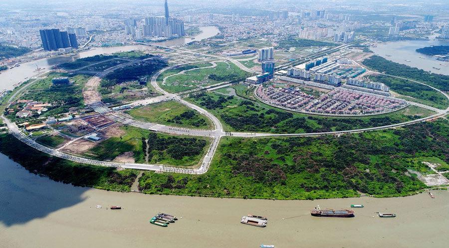 Xem xét các dự án trong 160ha đất tái định cư Thủ Thiêm