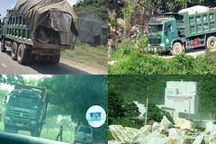 Xe 'vua' ở Nghệ An: Công an xử lý hàng loạt xe quá tải