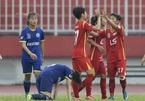 Vòng 12 giải nữ VĐQG – Cúp Thái Sơn Bắc 2018: Cơn mưa bàn thắng