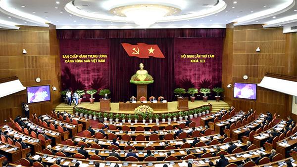 Trung ương thảo luận tại tổ về tình hình kinh tế xã hội