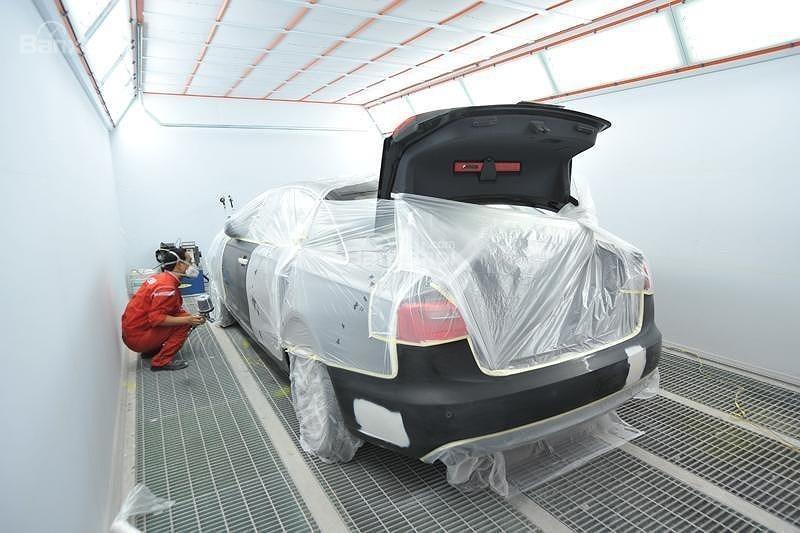 Muốn đổi màu sơn ô tô phải làm thủ tục như thế nào?