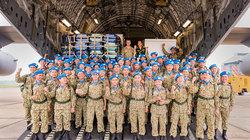 Siêu vận tải C-17 Úc vận chuyển BV dã chiến Việt sang Nam Sudan