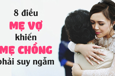 8 câu nói của mẹ vợ khiến mẹ chồng phải suy ngẫm