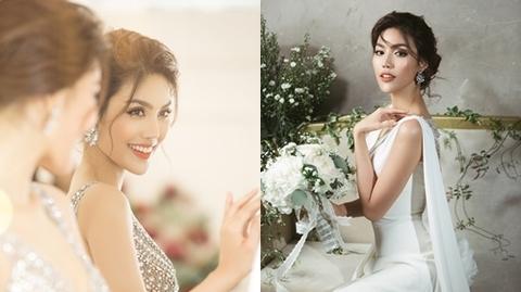 Trước ngày lên xe hoa, Lan Khuê hé lộ trang phục cưới