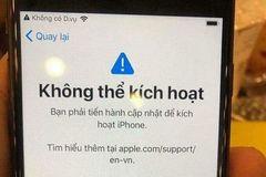 """iOS 12 có thể gây lỗi biến iPhone thành """"cục gạch"""""""