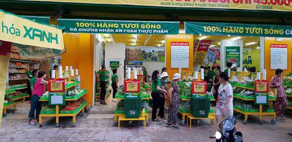 Bách hóa Xanh - siêu thị mở giữa lòng chợ