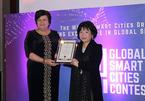 Đại diện Việt Nam đoạt giải thưởng quốc tế về thành phố thông minh