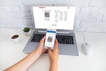 Đã có thể thanh toán vé Vietjet Air bằng QR Code