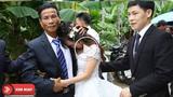 Khoảnh khắc cô dâu mới nức nở chia tay bố khiến nhiều người rơi nước mắt