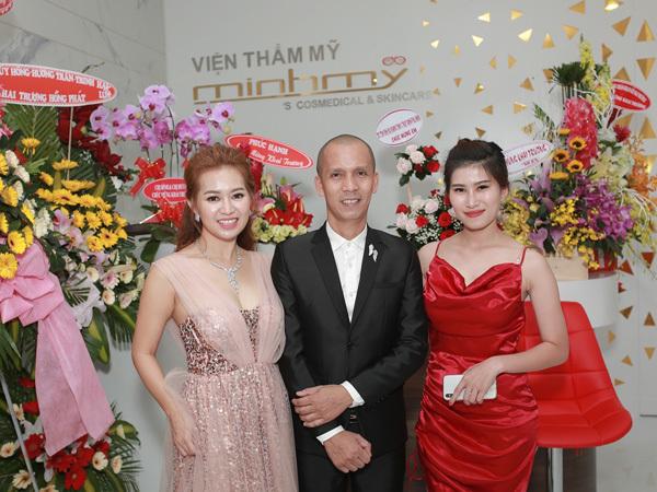 Dàn sao dự khai trương Viện thẩm mỹ Minh Mỹ