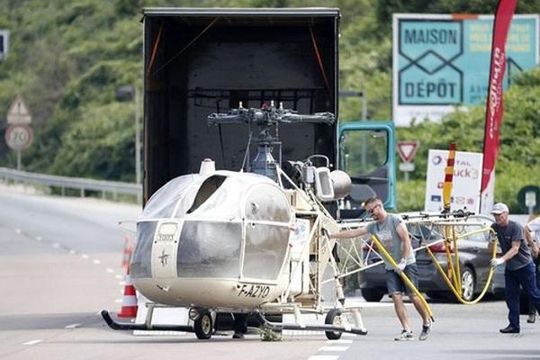 Tù nhân vượt ngục bằng trực thăng như phim