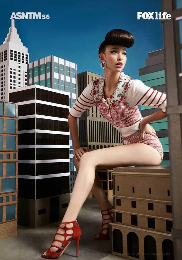 Thanh Vy bị loại khỏi Asia's Next Top Model 2018