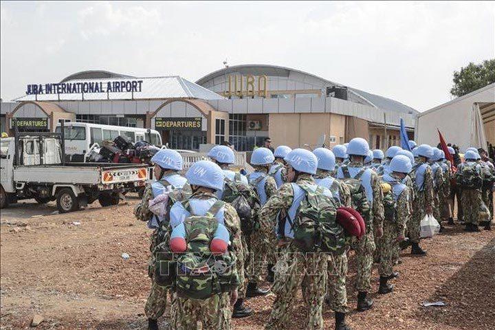 Hình ảnh đầu tiên của các bác sĩ quân y Việt Nam tại Nam Sudan