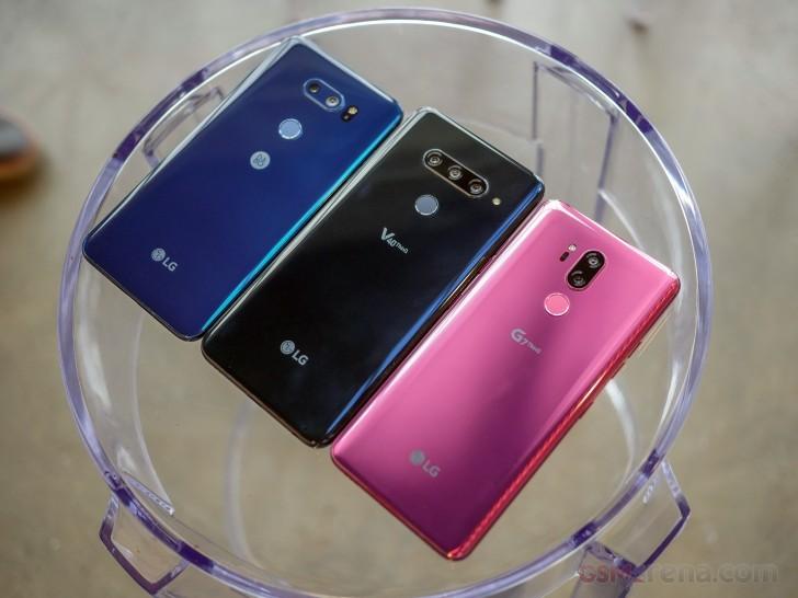 Cận cảnh siêu phẩm LG V40 ThinQ vừa ra mắt với 5 camera