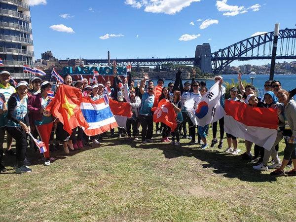 Giải việt dã Sydney Running Festival: Lan tỏa 'sống lành mạnh'