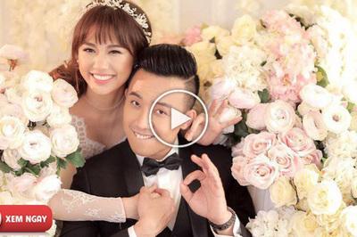 """Những pha """"bóc phốt"""" cực đáng yêu của cặp đôi Trấn Thành - Hari Won"""