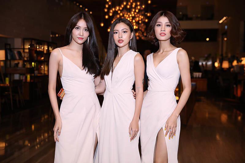 An Nguy lẻ bóng dự tiệc cưới Lan Khuê sau ồn ào với Kiều Minh Tuấn