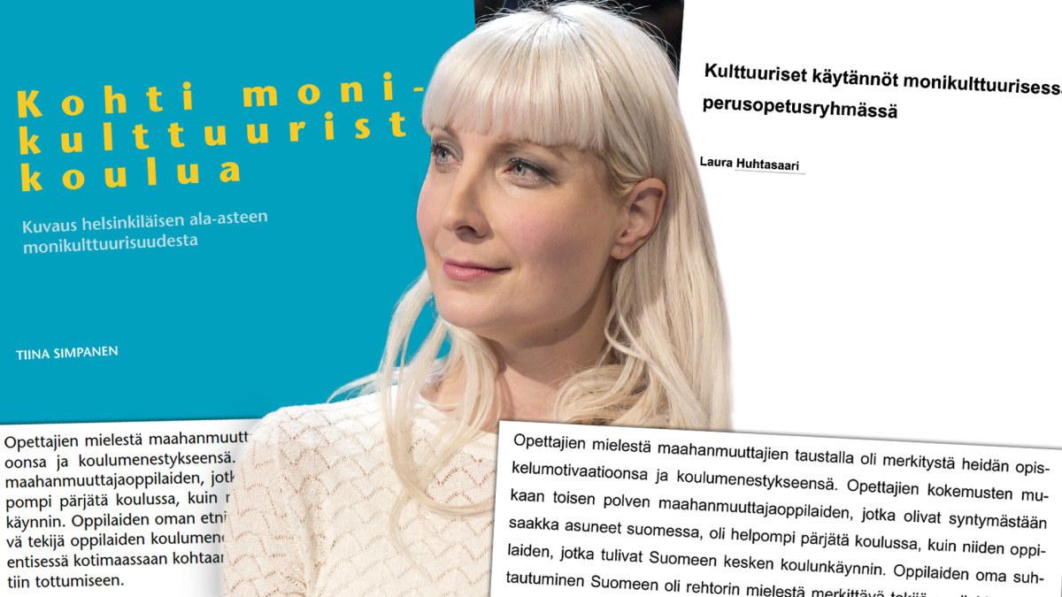 Tấm áp phích trường học Phần Lan làm bùng nổ tranh cãi