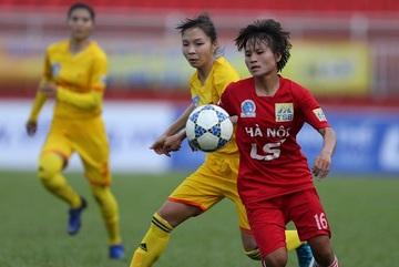Giải nữ VĐQG- Cúp Thái Sơn Bắc: Hà Nội vô địch lượt về