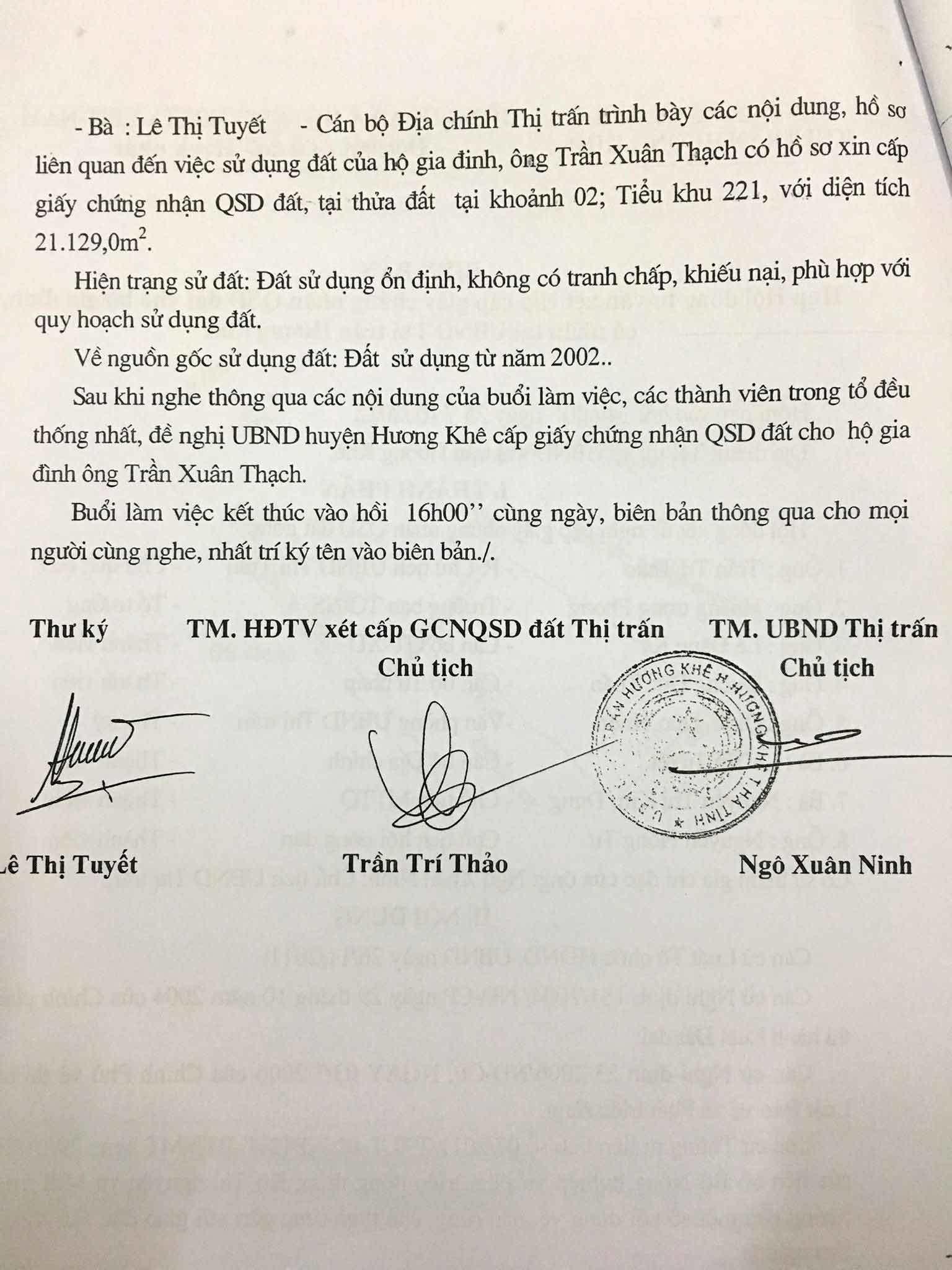 Vụ tố xẻ đất rừng bán tiền tỉ ở Hà Tĩnh: Tiết lộ của Chủ tịch xã