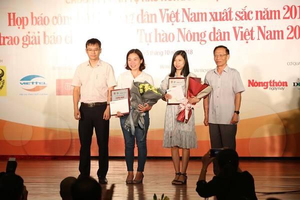 """11 tác phẩm đạt giải Báo chí Toàn quốc """"Tự hào Nông dân Việt Nam"""""""