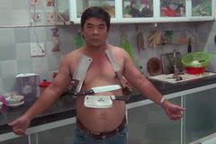 Kỳ lạ miền Tây: Người đàn ông có thể hút dao, bàn inox nặng vài chục ký