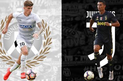 Udinese vs Juventus: Ronaldo vượt qua bão tố