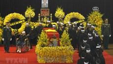 Hình ảnh xúc động tại lễ tang nguyên Tổng bí thư Đỗ Mười