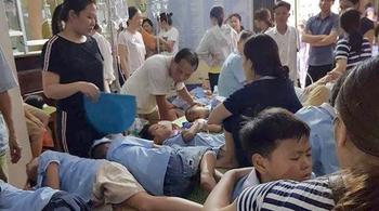 352 học sinh tiểu học bị ngộ độc nghi do ăn ruốc gà