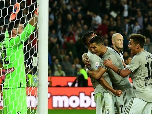 Udinese,Juventus,Ronaldo