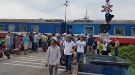Quảng Nam: Người đàn ông bị tàu tông chết thảm