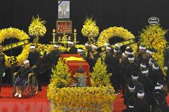 Gia đình nguyên Tổng bí thư Đỗ Mười cảm ơn sau lễ Quốc tang