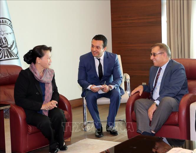 Chủ tịch QH tham dự hội nghị Chủ tịch QH các nước Á Âu