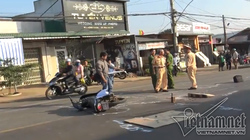 Truy tìm ô tô tông chết trung úy quân đội rồi bỏ trốn