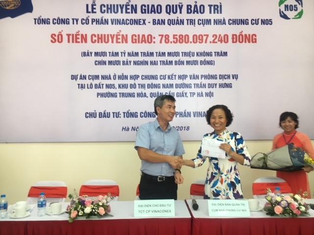 Dân chung cư nhận quỹ bảo trì 'khủng' gần 80 tỷ đồng