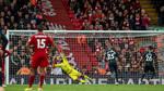 Mahrez hỏng phạt đền, Man City tuột chiến thắng ở Anfield