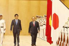 Lễ đón Thủ tướng Nguyễn Xuân Phúc thăm Nhật Bản