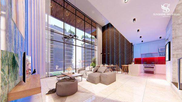 Sky Villas thế hệ mới - nghỉ dưỡng trong nội đô0