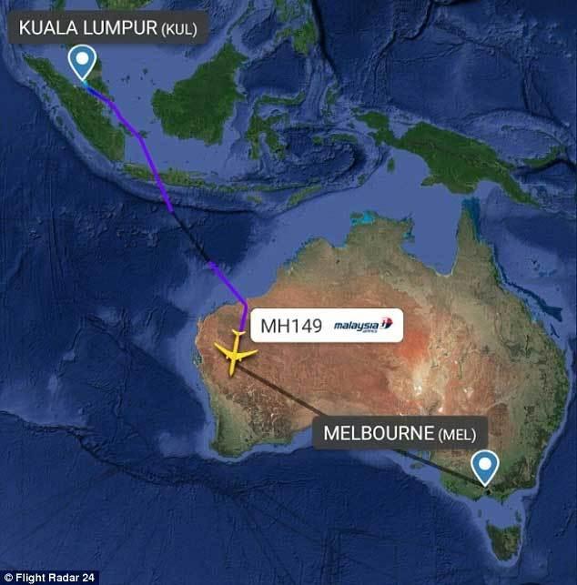 Sự cố bất ngờ trên máy bay Malaysia Airlines