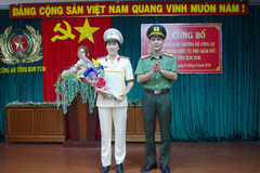 Kon Tum có nữ Phó giám đốc Công an