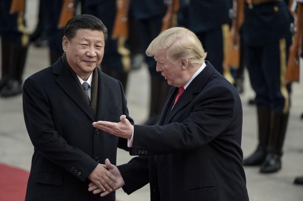 Tổng thống Donald Trump,quan hệ Mỹ - Trung,Tập Cận Bình,chiến tranh thương mại