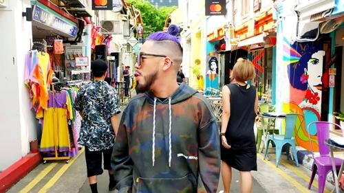 Only C kết hợp rapper Singapore tung MV cực chất