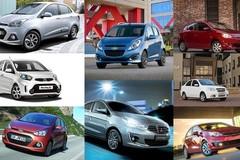 12 mẫu ô tô giá rẻ hạ xuống dưới 400 triệu đồng